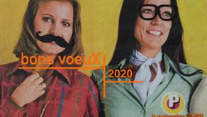 LES BONS VOEUX 2020 !