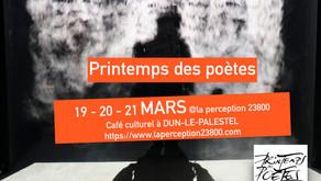 printemps des poètes 19, 20 et 21 mars 2020
