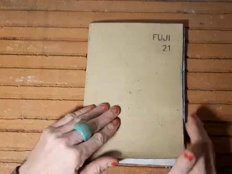 cahier filmé - fuji 21