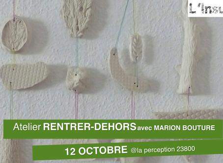 Atelier RENTRER-DEHORS/Marion Bouture