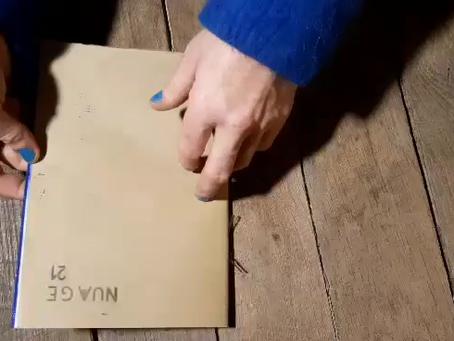 cahier filmé / nuage 21