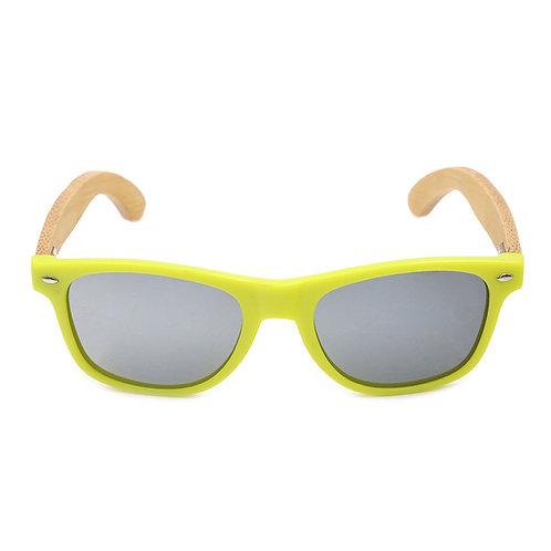 Очки Sunkie Yellow из дерева и пластика
