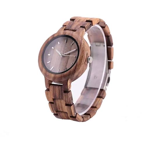 Часы Woodee Zebrano tropics