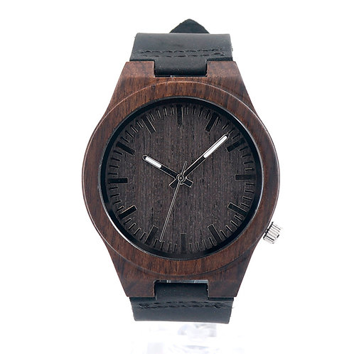 Часы Woodee Dark Ebony Casual