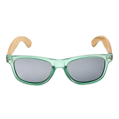 Очки Sunkie Green из дерева и пластика