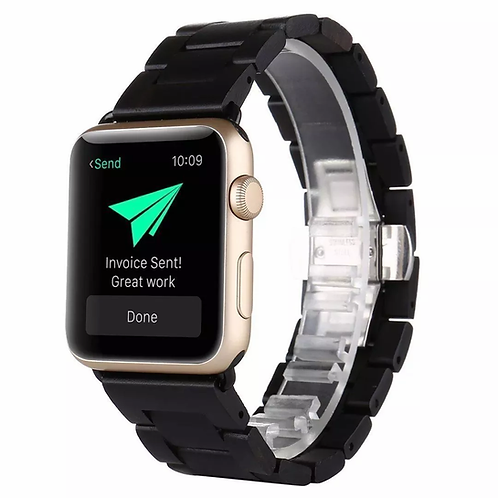 Ремешок из дерева для часов Apple Watch