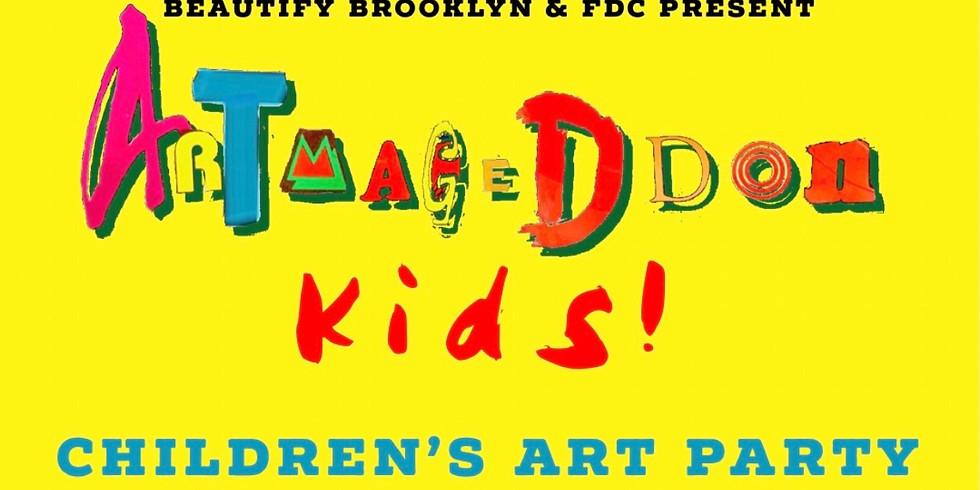 ARTMAGEDDON KIDS! CHILDREN'S ART PARTY