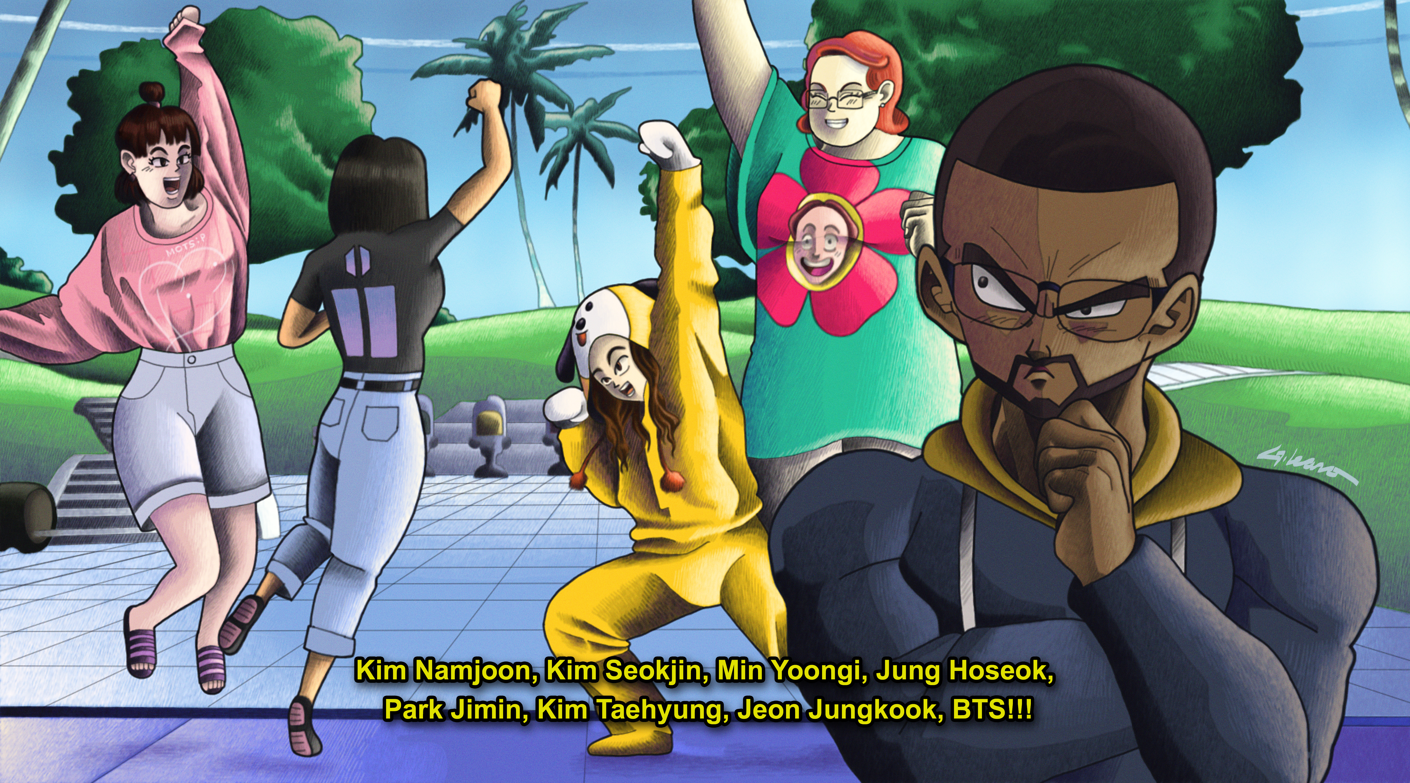 Bangtan Ball Z