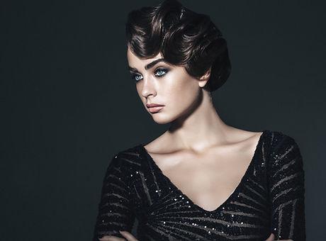 Evening Wear Model