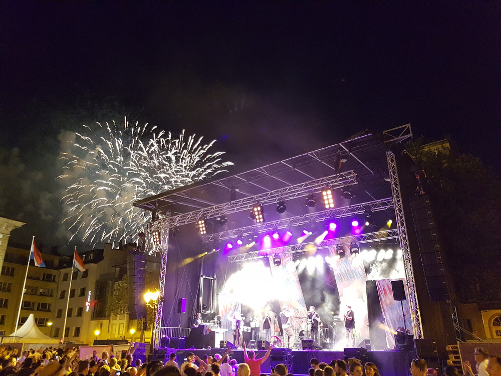 National Day 2017 in Luxembourg City