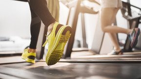 Re-program your run in the Gym