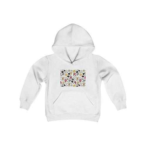 Youth Heavy Blend Hooded Sweatshirt