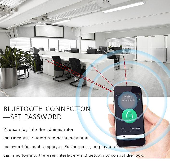 Bluetooth control lock setting