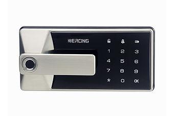 Intelligent digital filing cabinet lock.