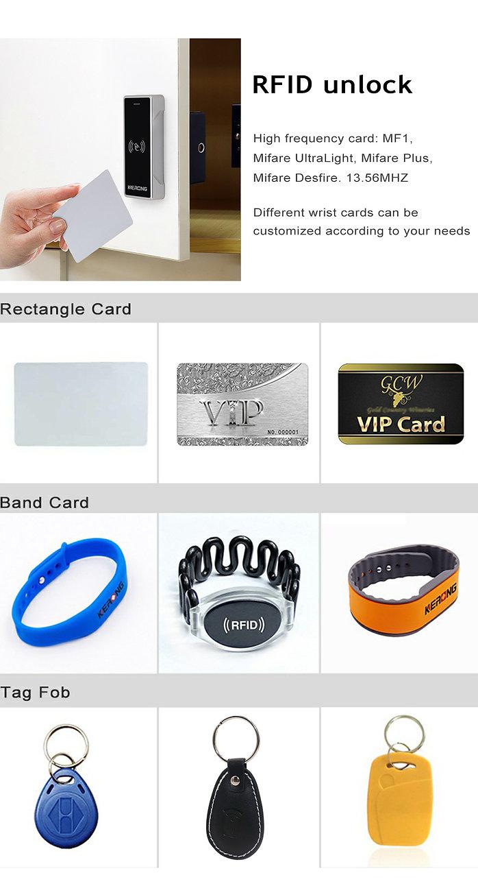 Lock proximity card customization