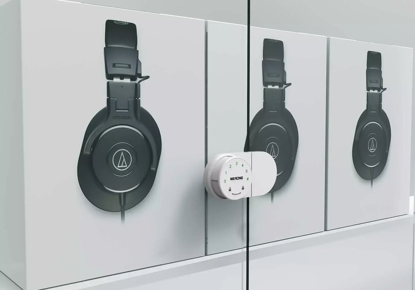 Custom display cabinet lock