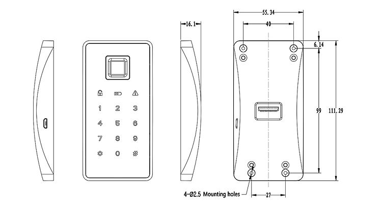 Lock panel size