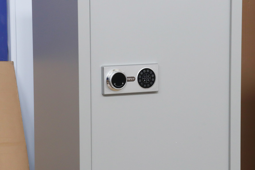 Password panel cabinet lock