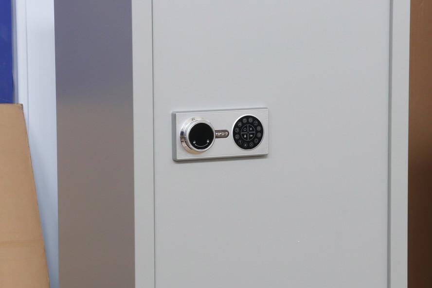 Password panel cabinet lock