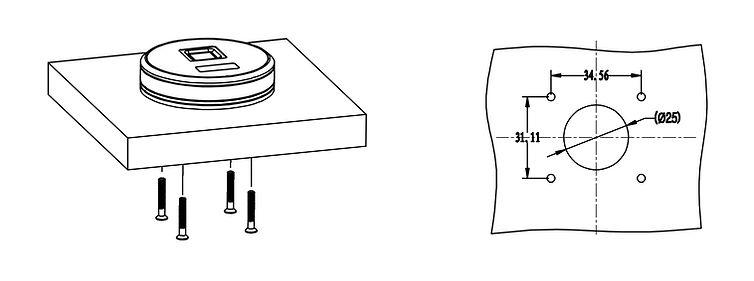 圆形表面安装示意.jpg