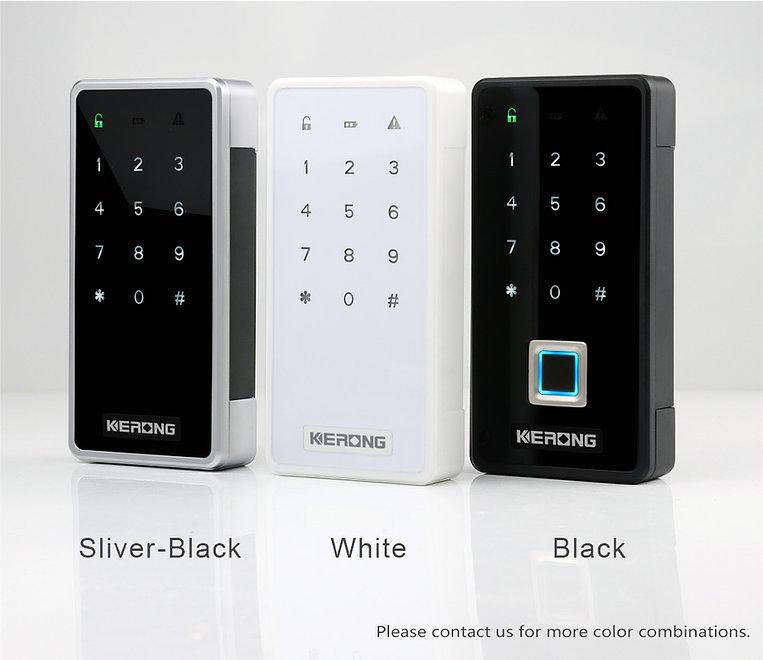 Three smart panel locks
