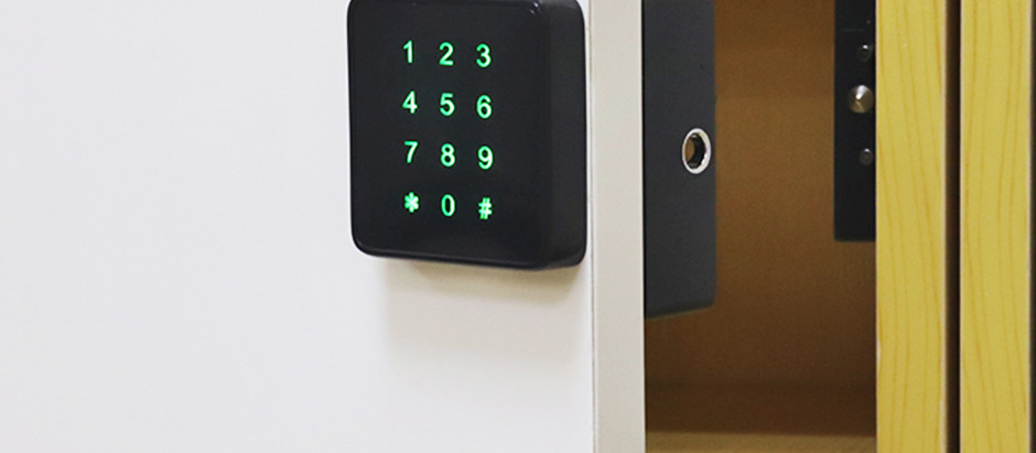 How to install a smart lock for your cabinet door?