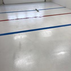 Hockey Garage Floor