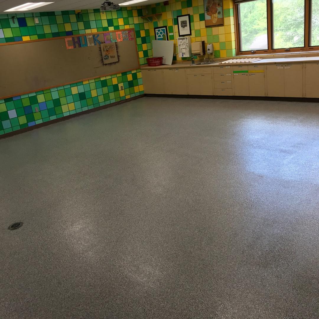 Classroom Epoxy Floor