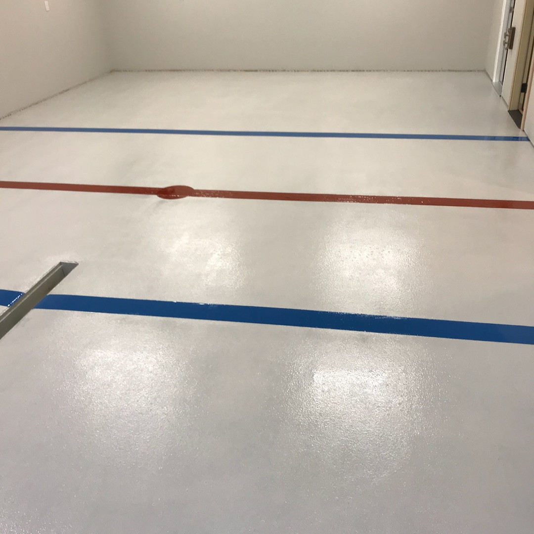 Garage Hockey Floor