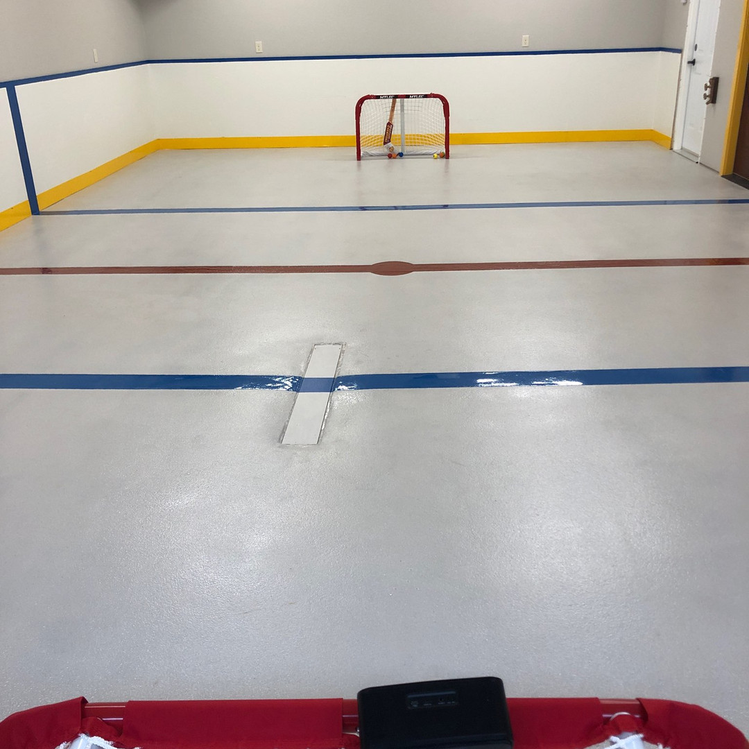 Hockey Garage Floor