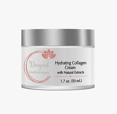 Dougoud Hydrating Collagen Cream with Natural Extracts 1.7 oz