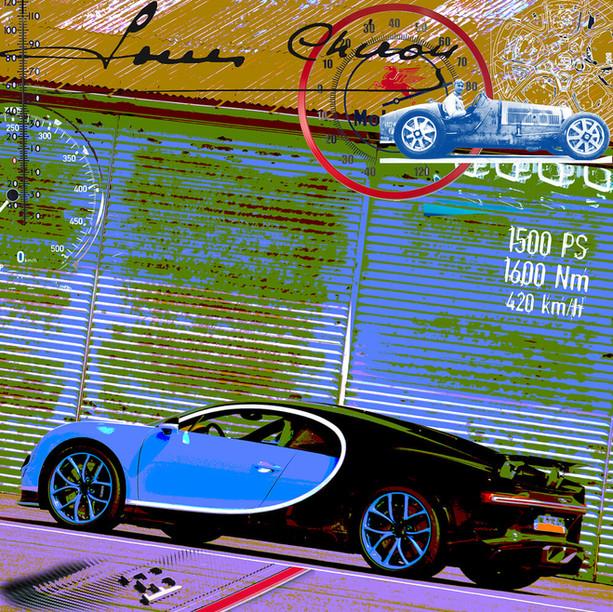 Galleryprint Bugatti Chiron