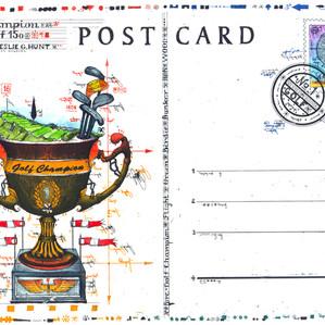Postcard Golf Champion