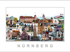 Stadtansicht-City Print-Nuernberg