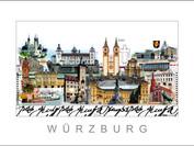 Stadtansicht Cityprint Würzburg