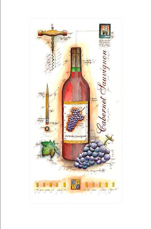 wine panel, wein, weinflasche, cabernet sauvignon, leslieghunt