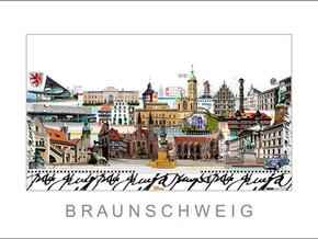 Stadtansicht-City Print-Braunschweig