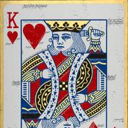 Acryl Bid King of Hearts