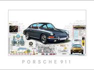 Auto Kunst-Car Art-Porsche 911-901