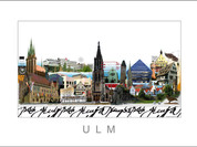 Stadtansicht Cityprint Ulm