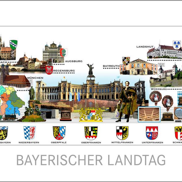 Antrittsbesuch Bundespräsident Steinmeier im Bayerischen Landtag München
