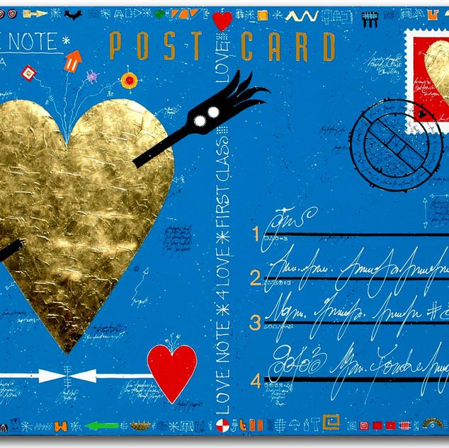Postcard Love Note