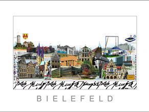 Stadtansicht-City Print-Bielefeld