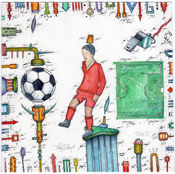 leslie-g.-hunt-Fußball-Techniker-700