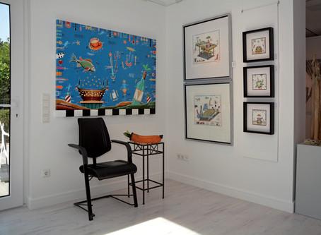 Meine POP ART Bilder nun in der Galerie Atelierspuren – Meppen