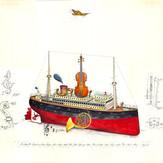 Gouache Queen Violine
