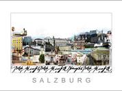 Stadtansicht Cityprint Salzburg