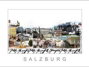 Stadtansicht-City Print-Salzburg