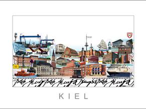 Stadtansicht - Cityprint - Kiel