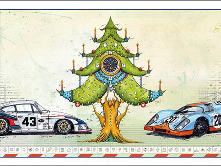 Neue Weihnachtskarte Porsche